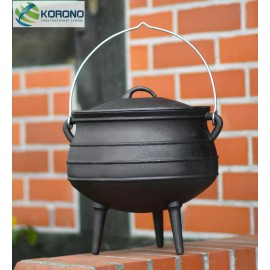 Cast-iron African goulash pot 6L, 9L, 13L