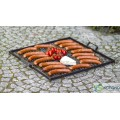 Square steel grill grate with handles