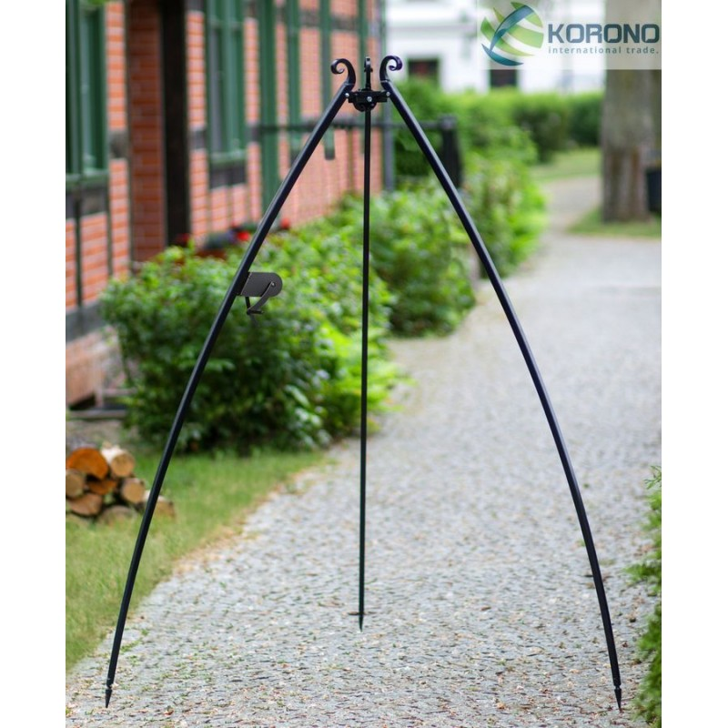 200 cm tripod with reel and curved legs