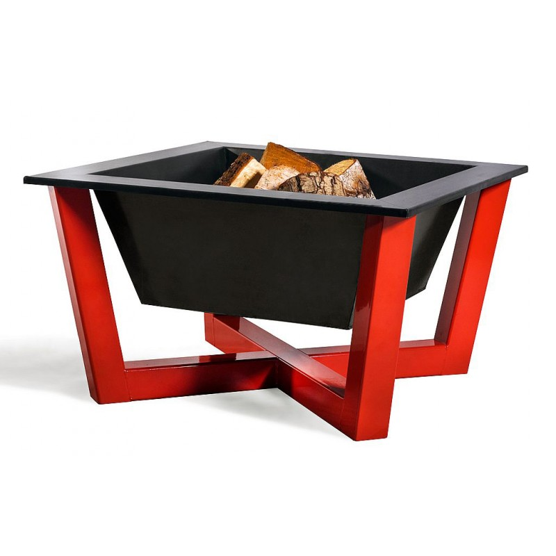Fire bowl, fireplace, barbeque red 365 -  Ø 70cm x 70cm