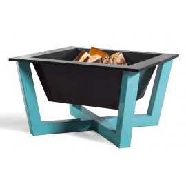 Fire bowl, fireplace, barbeque blue 366 -  Ø 70cm x 70cm