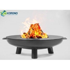 Fire bowl, fireplace, barbeque 301 - Ø 80cm + grill plate Ø 82cm