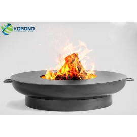 Fire bowl, fireplace, barbeque 305 Ø 80cm + grill plate Ø 82cm