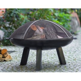 Fire bowl, fireplace, barbeque 310 Ø 60cm, 70cm, 80cm + screen mesh 670