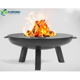 Fire bowl, fireplace, barbeque 310 - Ø 80cm + grill plate Ø 82cm