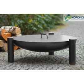 Fire bowl, fireplace, barbeque 315 Ø 60cm, 70cm, 80cm + lid 654