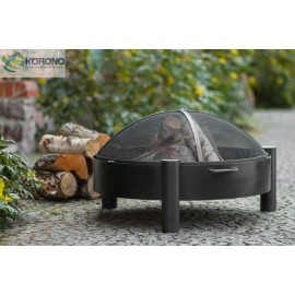 Fire bowl, fireplace, barbeque 320 Ø 60cm, 70cm, 80cm + screen mesh 670