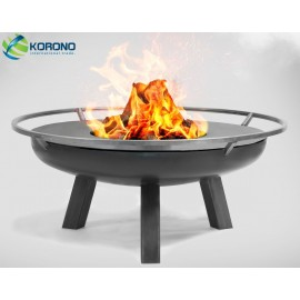 Fire bowl, fireplace, barbeque 340 - Ø 80cm + grill plate Ø 82cm