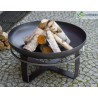 Fire bowl, fireplace, barbeque 345 - Ø 80cm + grill plate Ø 82cm