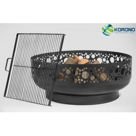 Fire bowl, fireplace, barbeque 350 Ø 80cm + grill grate