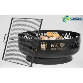 Fire bowl, fireplace, barbeque 353 Ø 80cm + grill grate