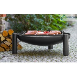 Fire bowl, fireplace, barbeque 315 Ø 60cm, 70cm, 80cm + grill grate