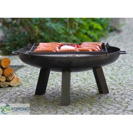 Fire bowl, fireplace, barbeque 310 Ø 60cm, 70cm, 80cm + grill grate