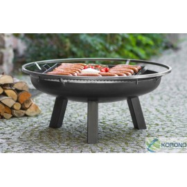 Fire bowl, fireplace, barbeque 340 Ø 60cm, 70cm, 80cm + grill grate