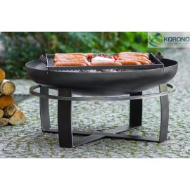 Fire bowl, fireplace, barbeque 345 Ø 60cm, 70cm, 80cm + grill grate