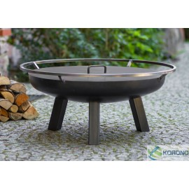 Fire bowl, fireplace, barbeque 340 Ø 60cm, 70cm, 80cm + lid 650