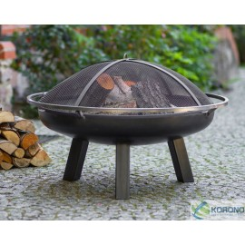 Fire bowl, fireplace, barbeque 340 Ø 60cm, 70cm, 80cm + screen mesh 670