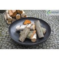 Fire bowl, fireplace, barbeque 301 - Ø 80cm + 3 chamber pan with holder Ø 70cm